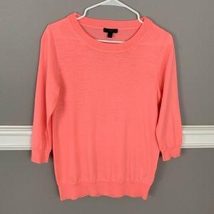J.Crew  Sweater, a peach Color
